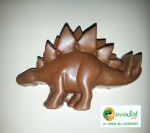 """""""estegosaurio de chocolate con leche"""""""