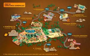 mapa de dinopolis