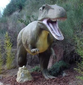 dinosaurios en faunia