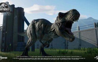 Tiranosaurio Rex Videojuego Jurassic Park Jeff Goldblum