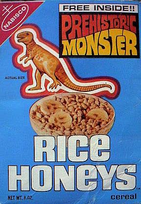 Cereales desayuno dinosaurio