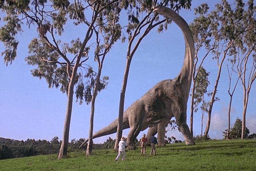 Brontosaurio de Jurasic Park
