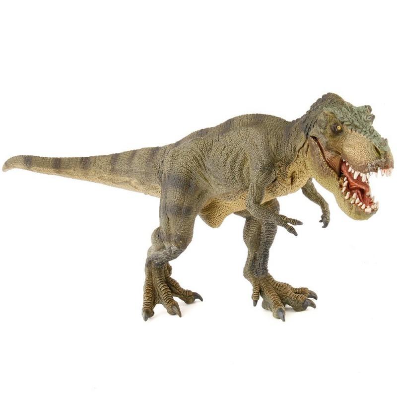 Figura de dinosaurio Tiranosaurio rex marca Papo