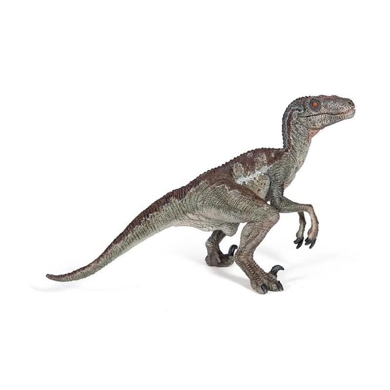 figura dinosaurio velociraptor papo