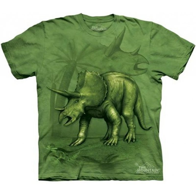 CAmiseta infantil de dinosaurios Triceratops
