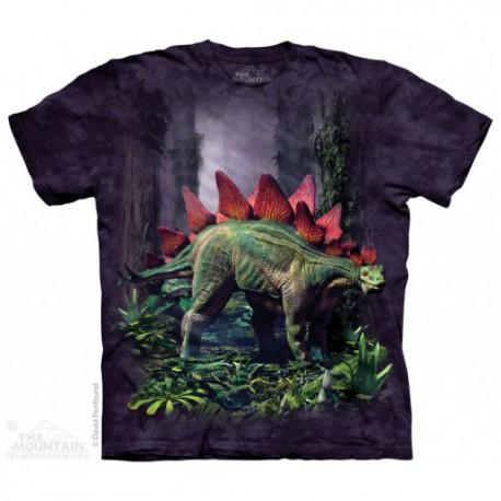 Camiseta infantil de dinosaurios stegosaurio