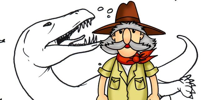 Dibujos De Dinosaurios Para Colorear Sobre El Mesozoico Que coloreen esta bonita tela infantil de dinosaurios. dibujos de dinosaurios para colorear