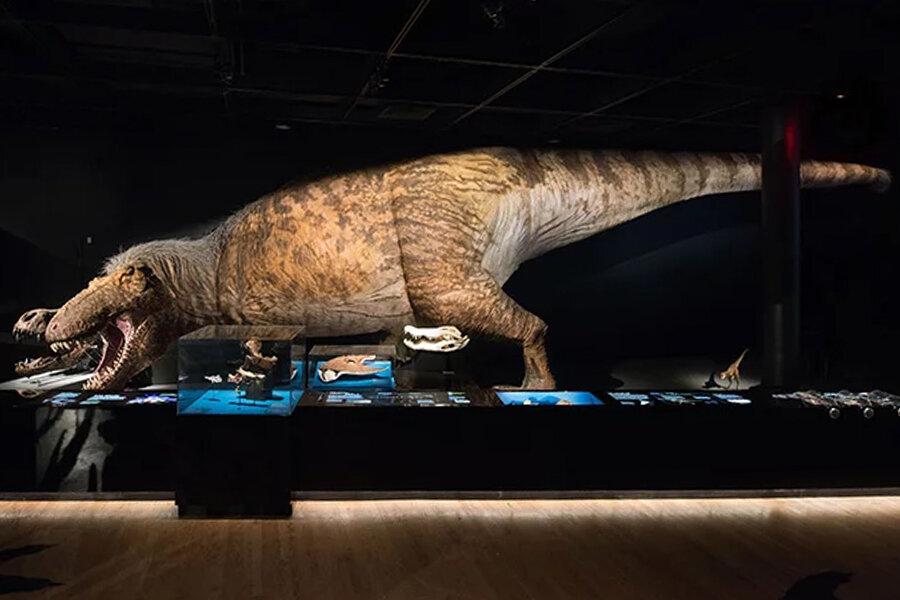 tiranosaurio Rex con plumas